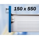 VODILO METABOX BLUM 150X550mm KREM